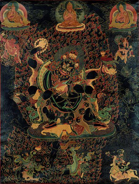 Six-arm Mahakala | Ganachakra