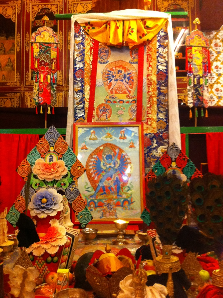 Empowerment mandala from the Kagyu Ngak Dzod