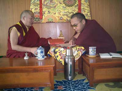 Karmapa and His Eminence