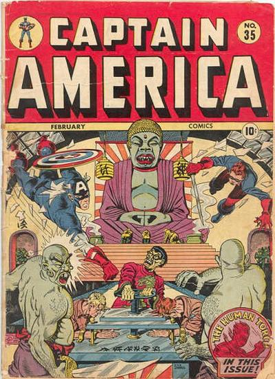 Captain America fights Buddhists